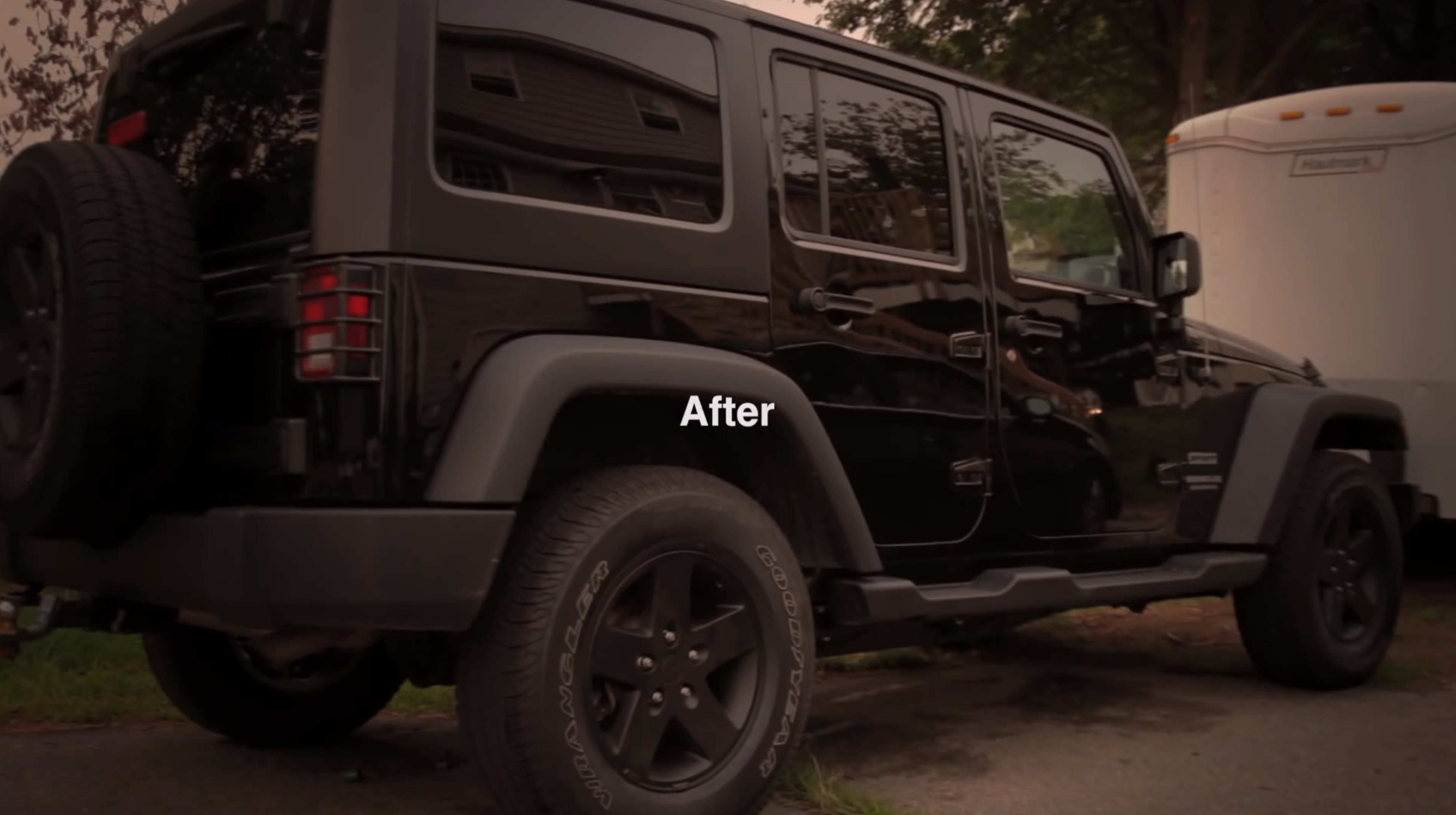 How to Plasti Dip Jeep Wrangler Wheels (without removing ...